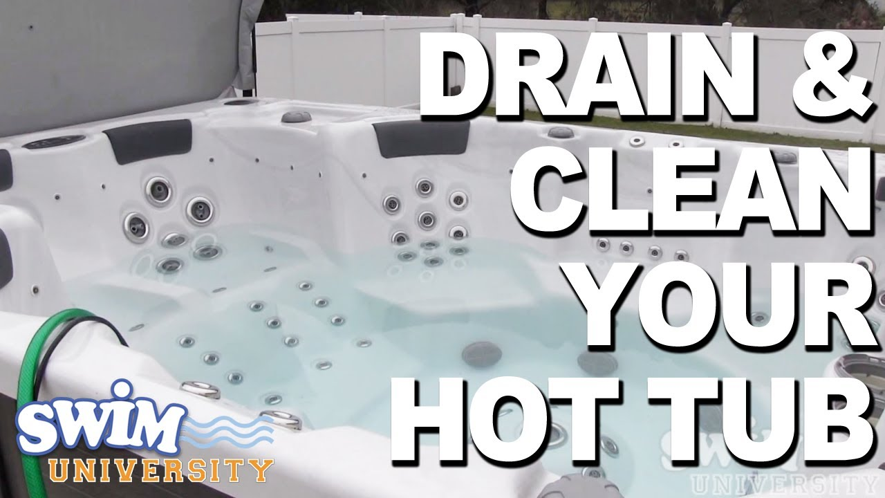 Home-made Solutions to Clean your Hot Tub